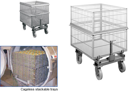 Trays and Cages
